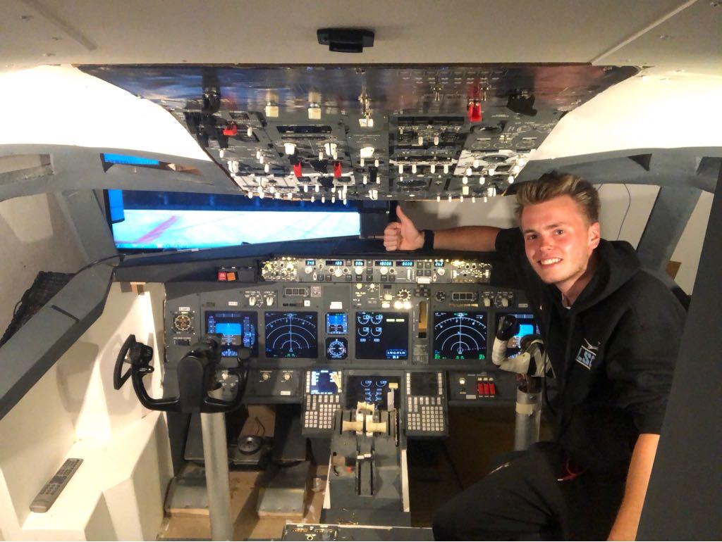 Ein 737 Cockpit zuhause?
