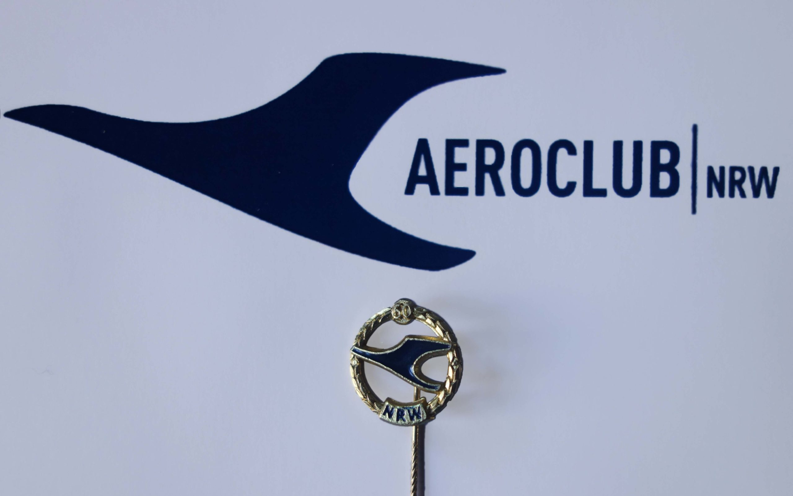 Goldene Ehrennadeln vom Aeroclub NRW